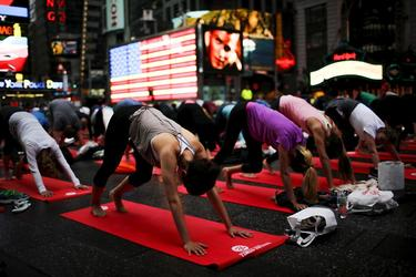 Many sleepless Americans trying meditation and yoga